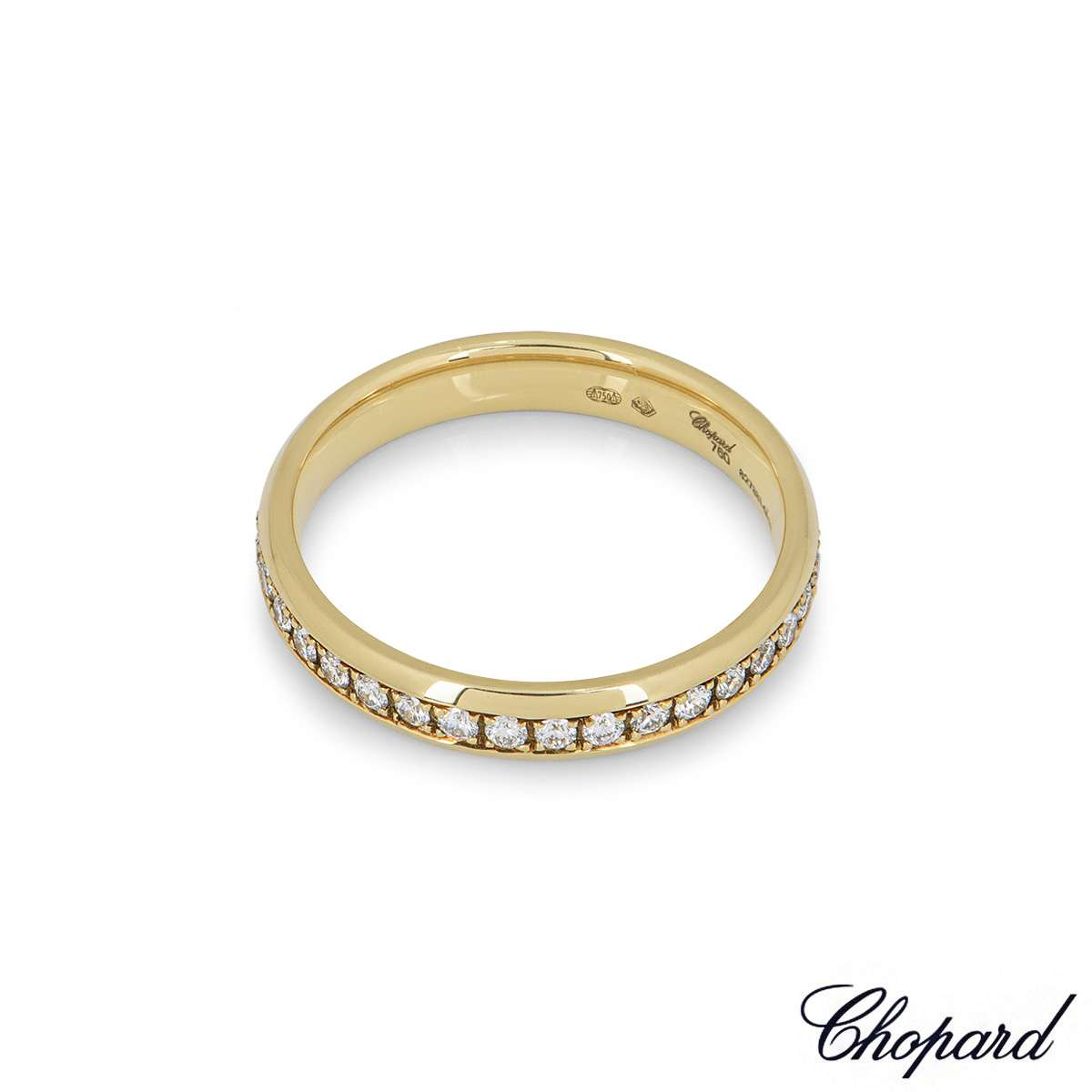 Chopard Yellow Gold Diamond Band 827331-0111